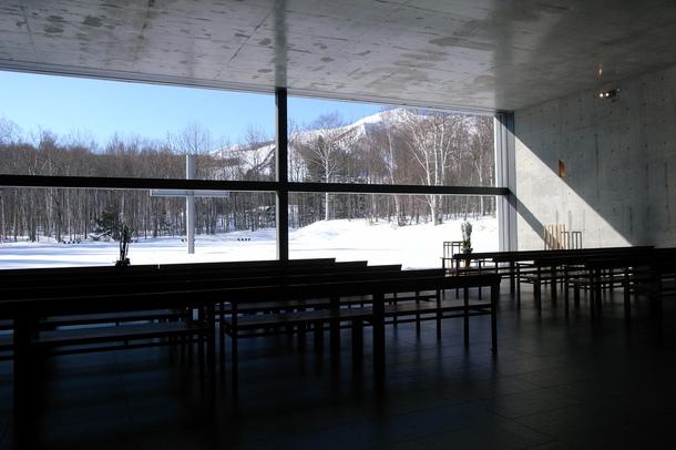 Cappella sull'acqua - fonte: wikimedia
