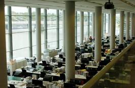 lo studio di Norman Foster a Londra