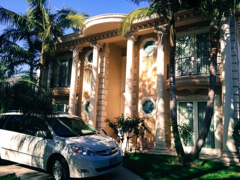Spanish-Palladian-House