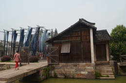 Produzione tessile, Wuzhen, Provincia di Shanghai