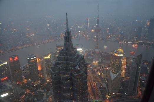 Vista dal World Financial Center, Shanghai
