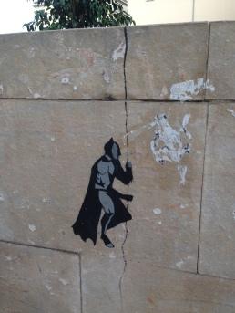 Un Batman sul muretto