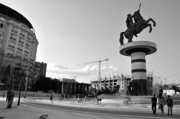 La statua di Alessandro il Macedone