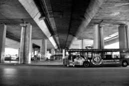 La stazione degli autobus (Kenzo Tange)