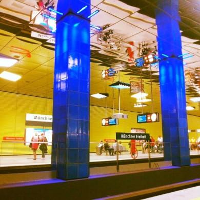 Linea U3/6 _ Münchner Freiheit