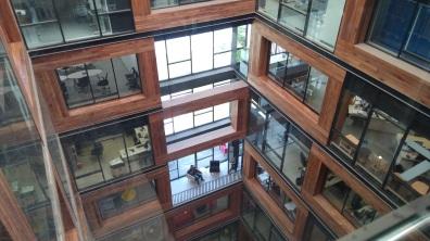 la trasparenza degli spazi interni